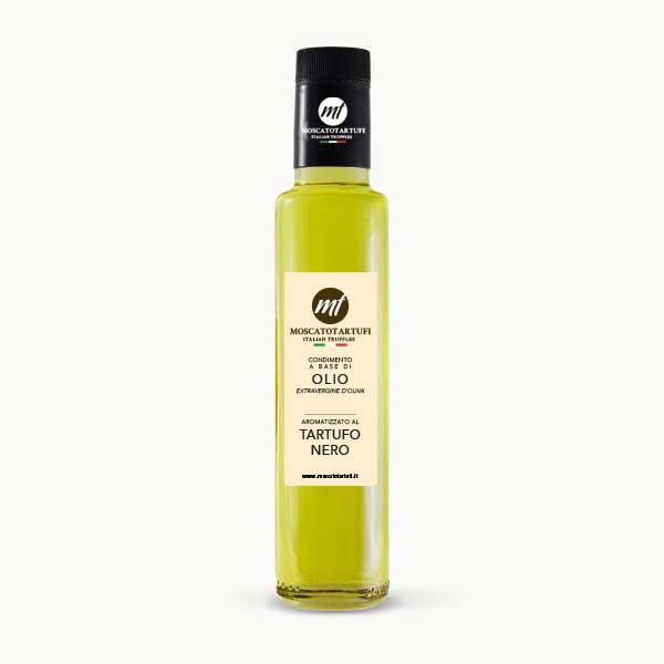 Olio Extra-vergine d'oliva aromatizzato Tartufo Nero