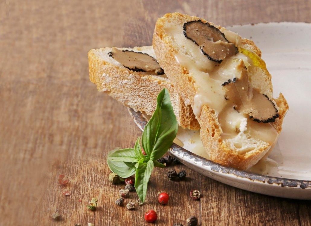 Crostini al Tartufo Bianco